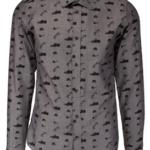 Bertoni skjorte i grå
